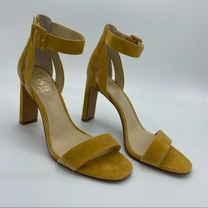 Suede Vince Camuto Butternut Sandle 8.5  New w/Box